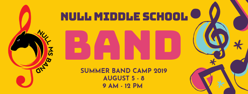 Null MS Summer Band 2019