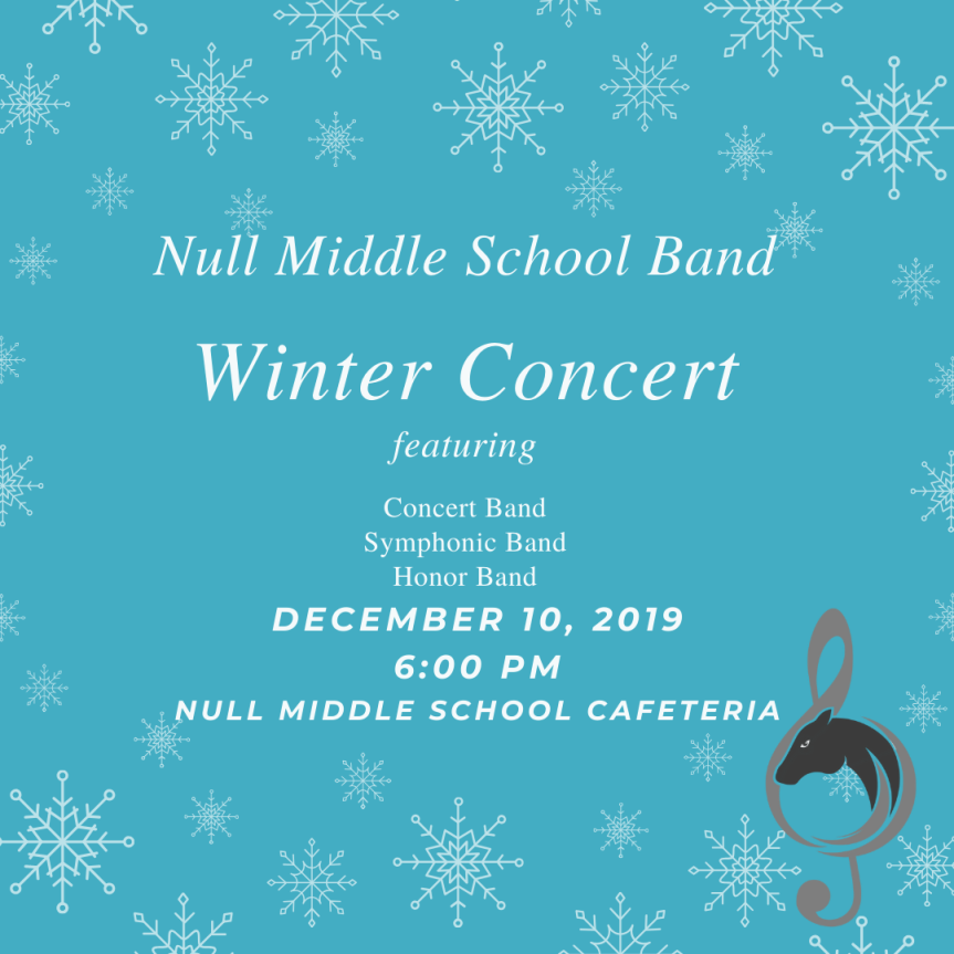 Null Middle School Band Winter Concert (2)