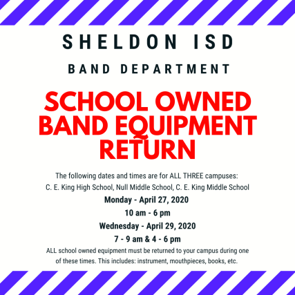 Sheldon isd band department (1)